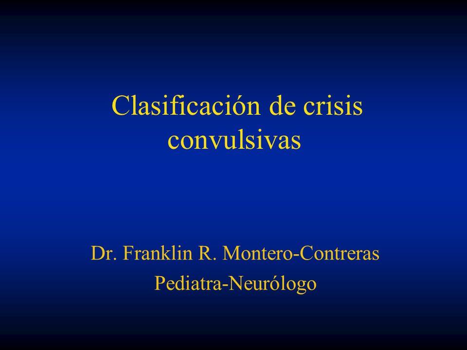 Clasificación de crisis convulsivas