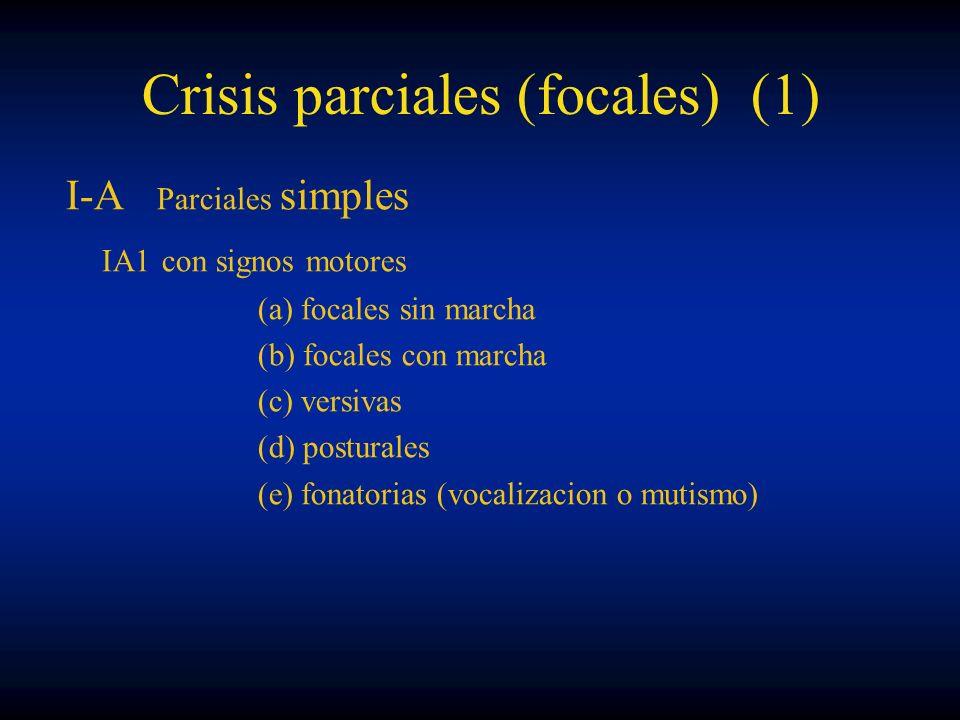 Crisis parciales (focales) (1)