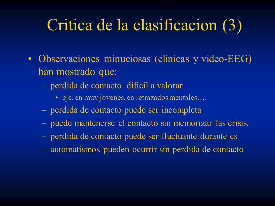 Critica de la clasificacion (3)