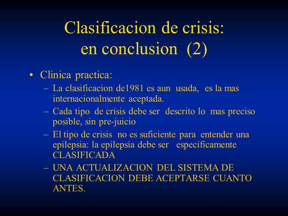 Clasificacion de crisis: en conclusion (2)