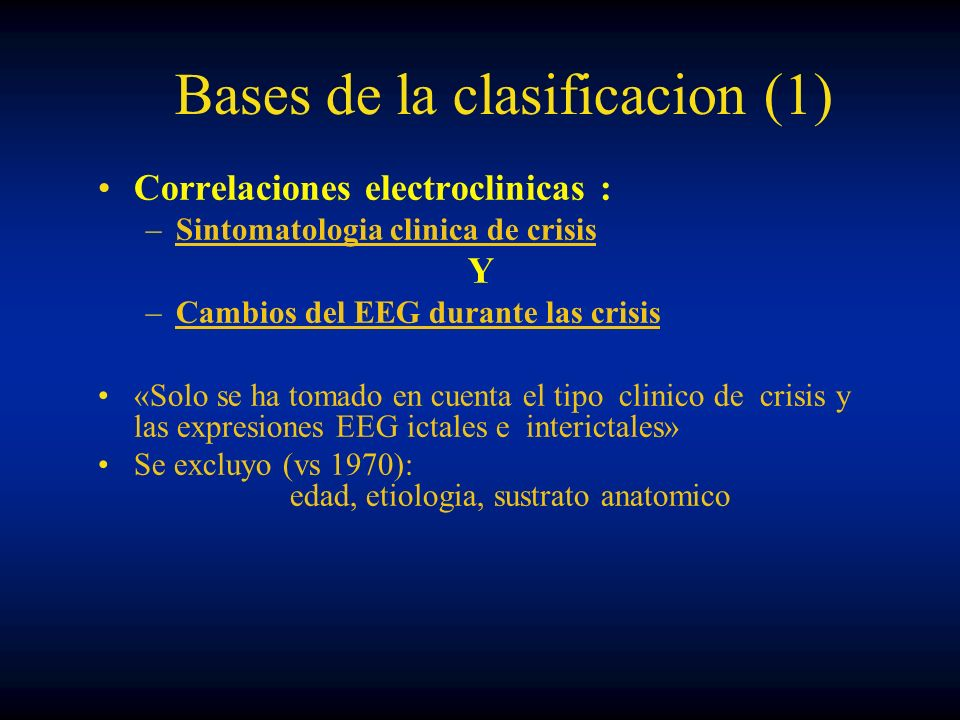 Bases de la clasificacion (1)