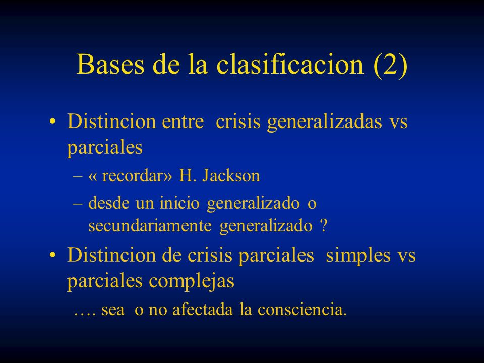 Bases de la clasificacion (2)