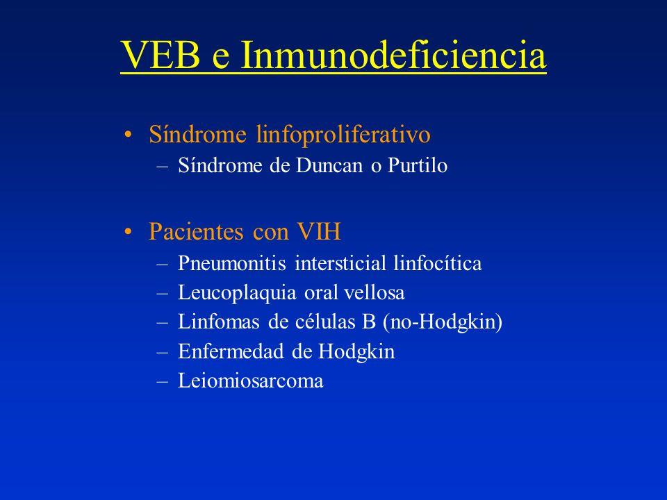 VEB e Inmunodeficiencia