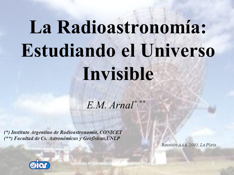 La Radioastronomía: Estudiando el Universo Invisible