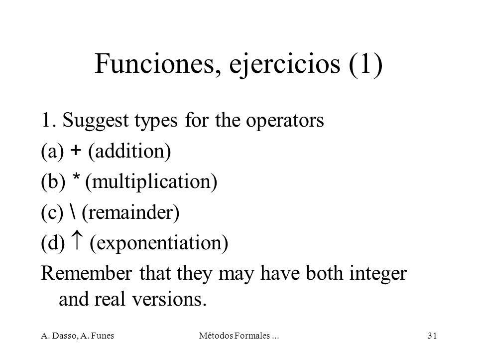 Funciones, ejercicios (1)