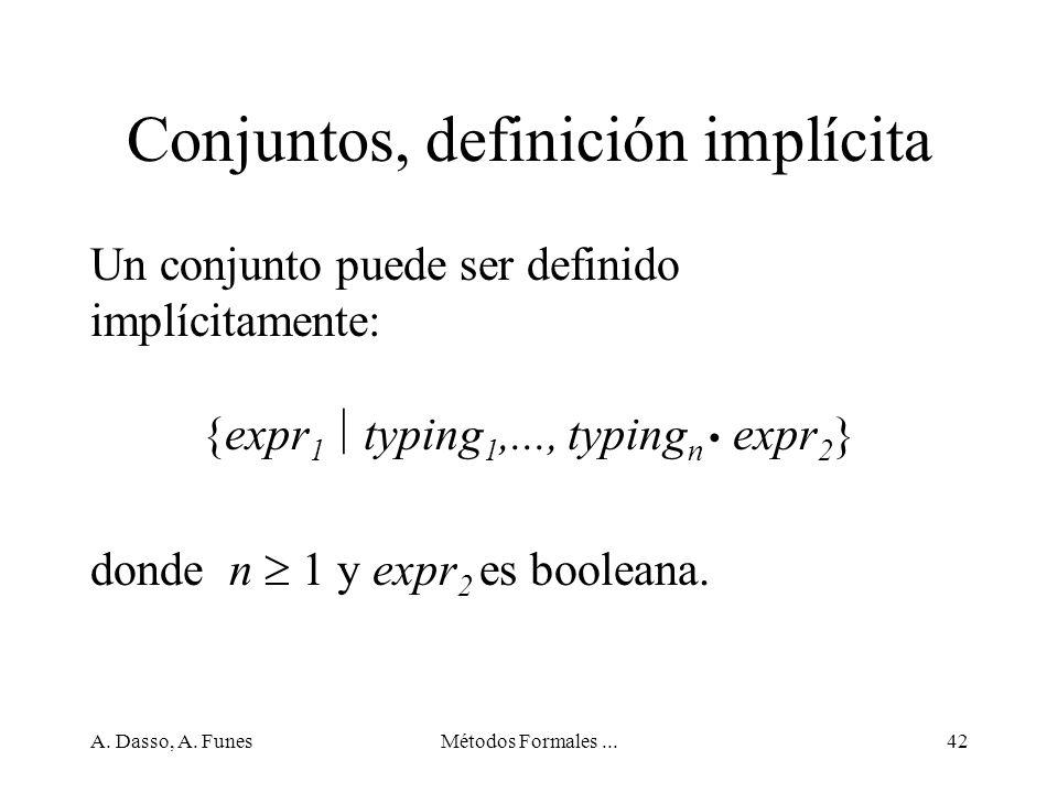 Conjuntos, definición implícita