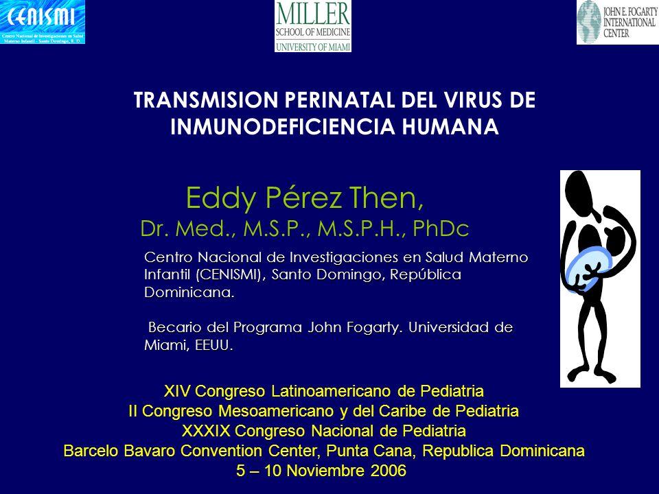 TRANSMISION PERINATAL DEL VIRUS DE INMUNODEFICIENCIA HUMANA