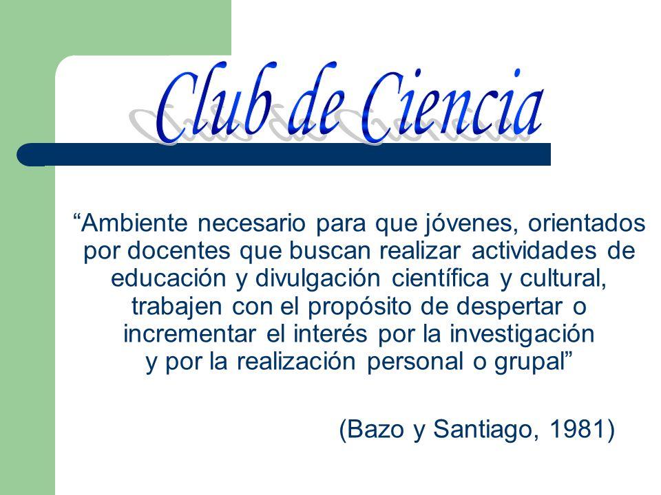 Club de Ciencia
