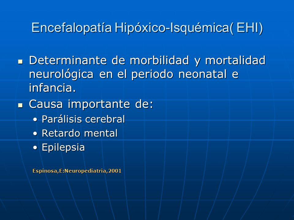 Encefalopatía Hipóxico-Isquémica( EHI)