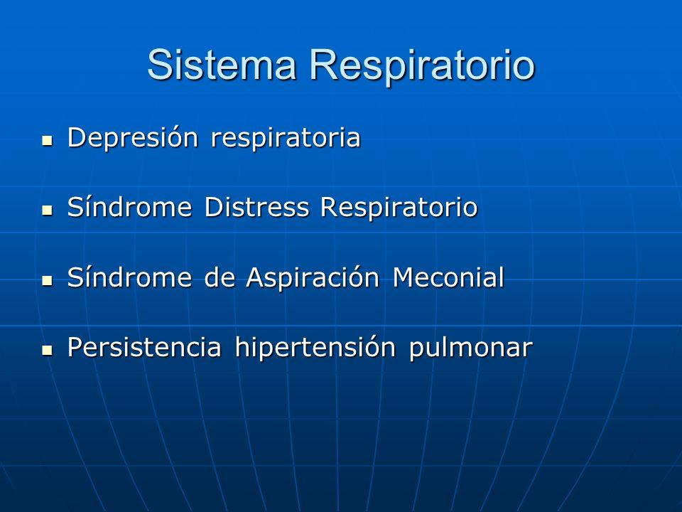 Sistema Respiratorio Depresión respiratoria