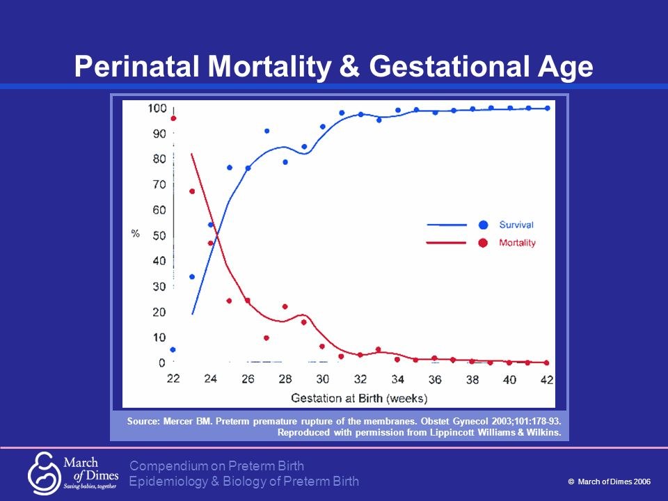 Perinatal Mortality & Gestational Age