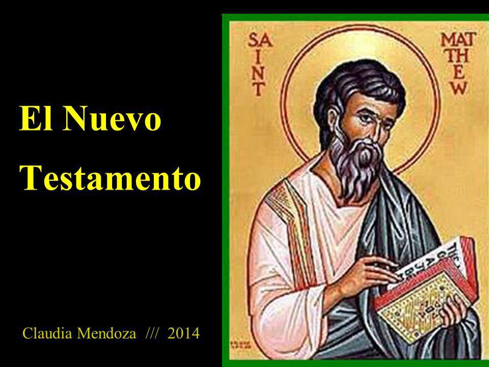 El Nuevo Testamento Claudia Mendoza /// 2014 Imagen tomada de: