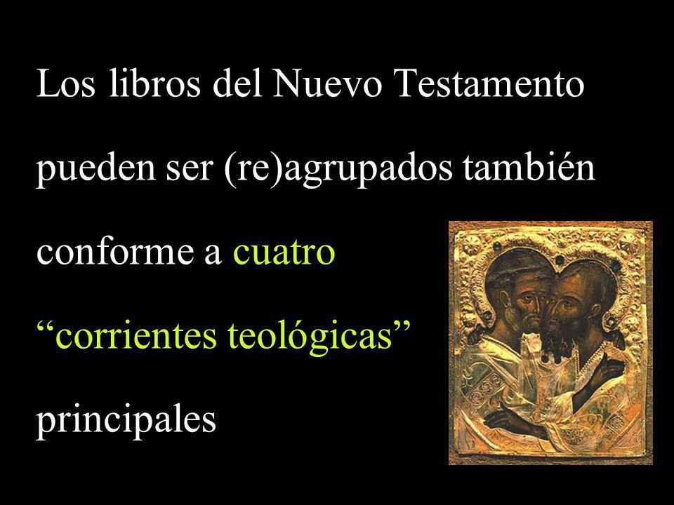 Los libros del Nuevo Testamento pueden ser (re)agrupados también