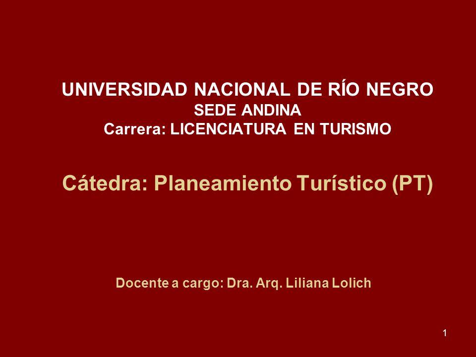 Docente a cargo: Dra. Arq. Liliana Lolich