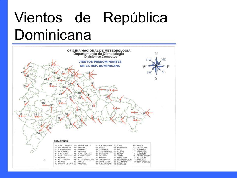 Vientos de República Dominicana
