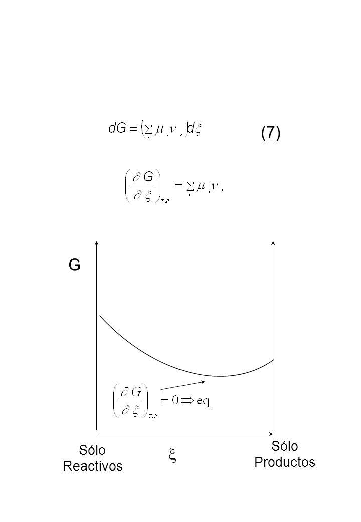 (7) G x Sólo Sólo Productos Reactivos