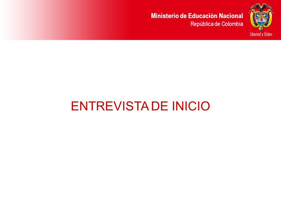 ENTREVISTA DE INICIO 6