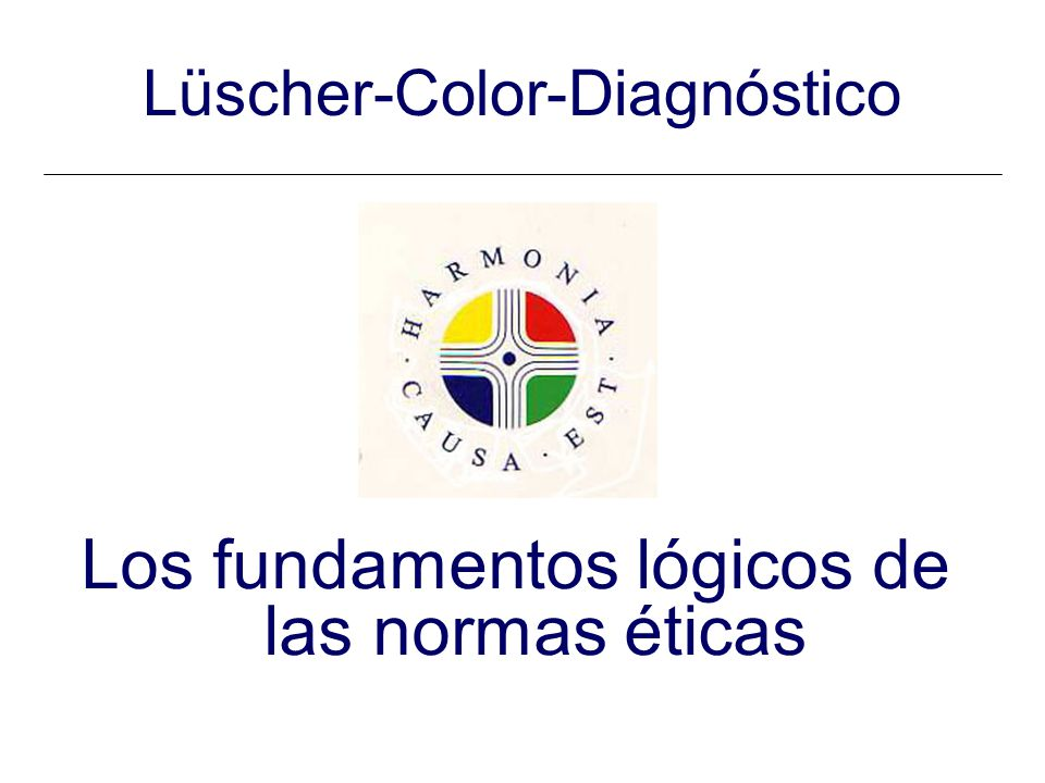 Lüscher-Color-Diagnóstico