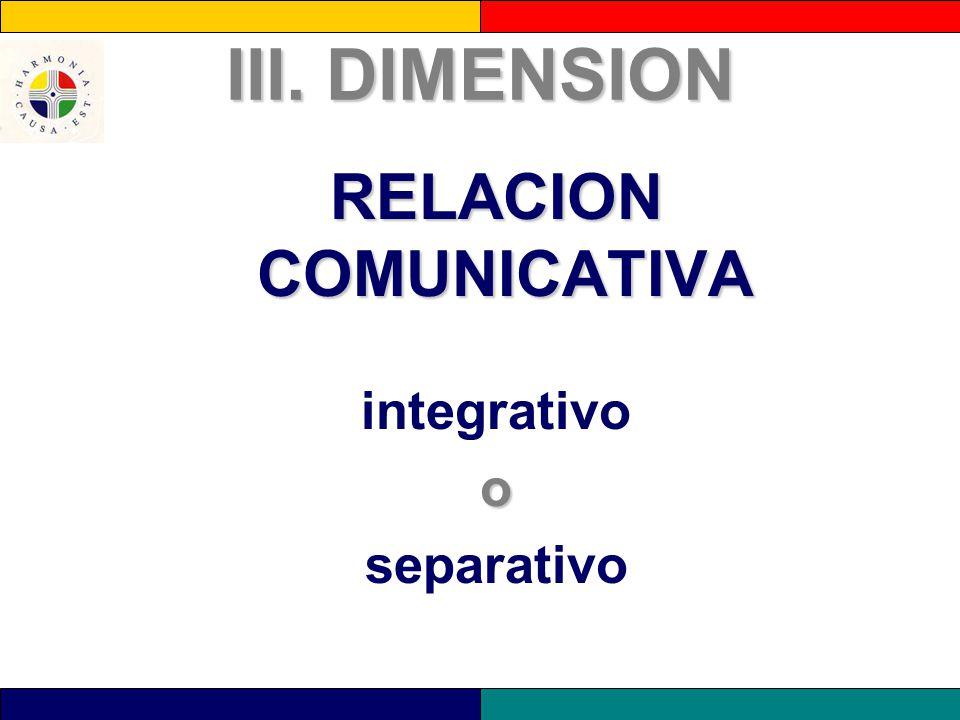 RELACION COMUNICATIVA
