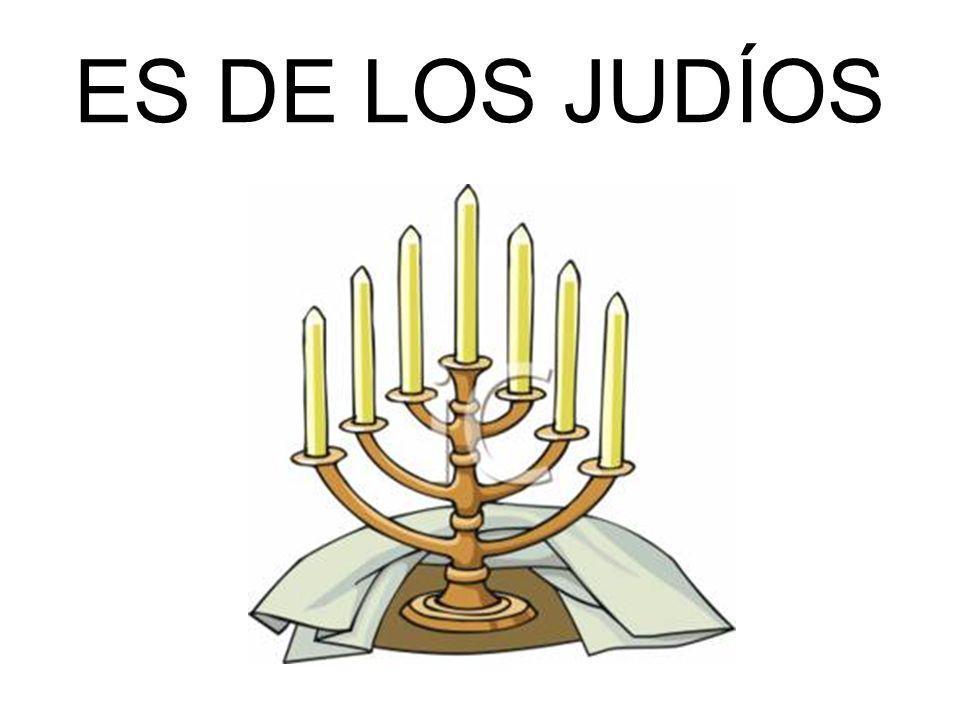 ES DE LOS JUDÍOS