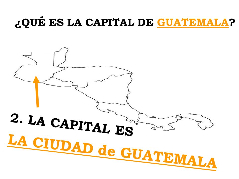 ¿QUÉ ES LA CAPITAL DE GUATEMALA