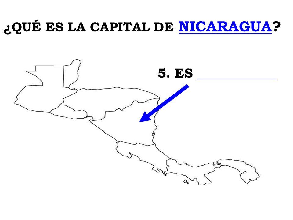 ¿QUÉ ES LA CAPITAL DE NICARAGUA