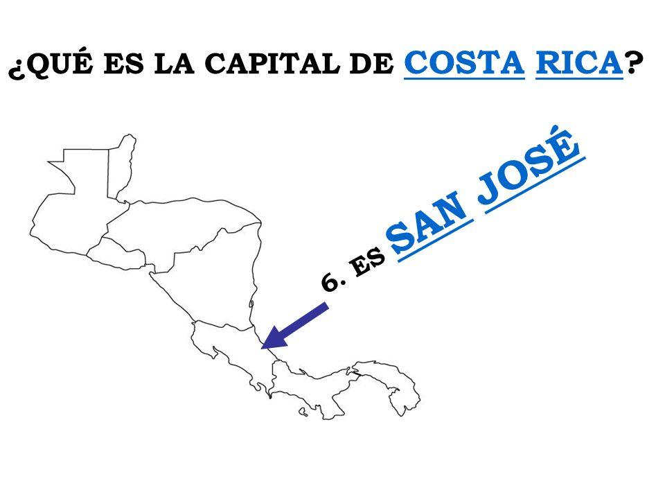 ¿QUÉ ES LA CAPITAL DE COSTA RICA