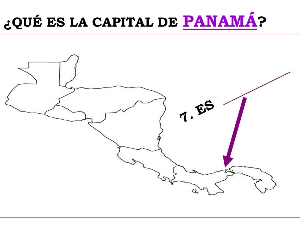 ¿QUÉ ES LA CAPITAL DE PANAMÁ