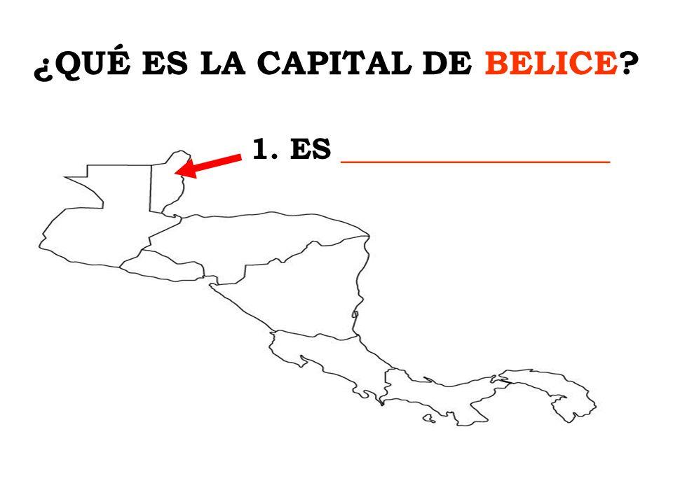 ¿QUÉ ES LA CAPITAL DE BELICE
