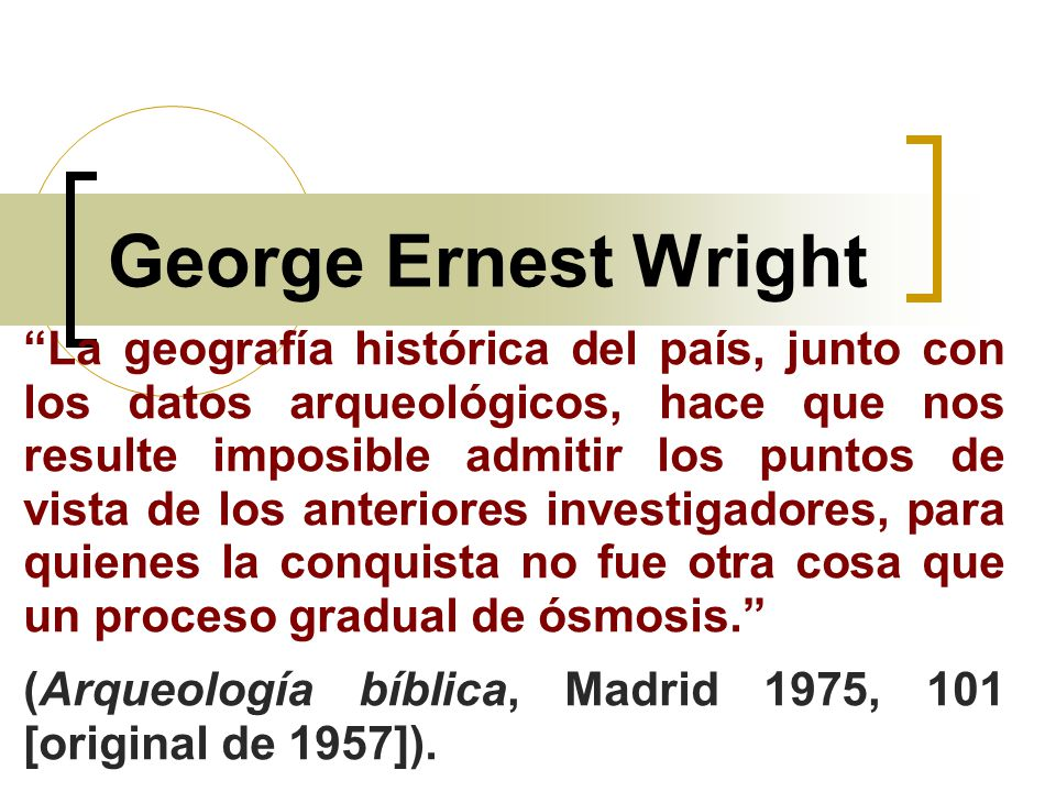 George Ernest Wright