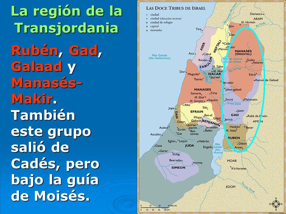 La región de la Transjordania