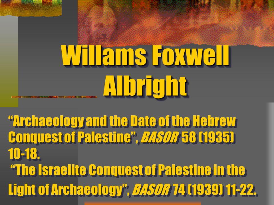 Willams Foxwell Albright