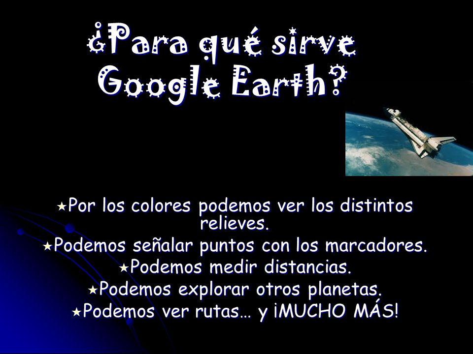¿Para qué sirve Google Earth