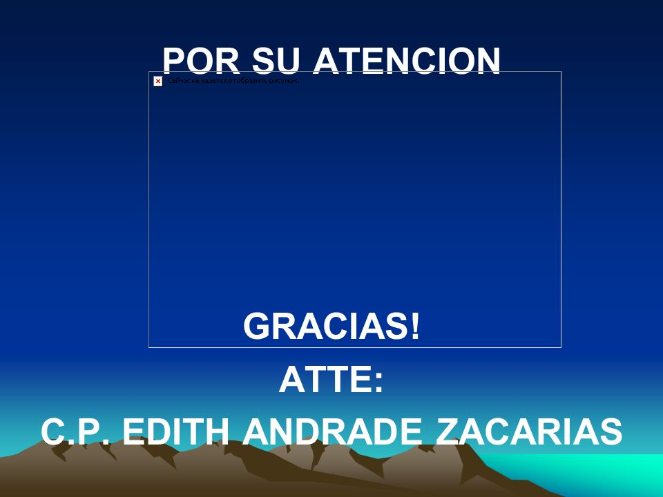 C.P. EDITH ANDRADE ZACARIAS