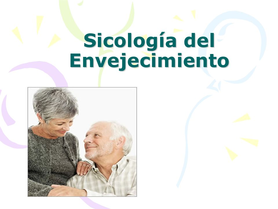 Sicología del Envejecimiento