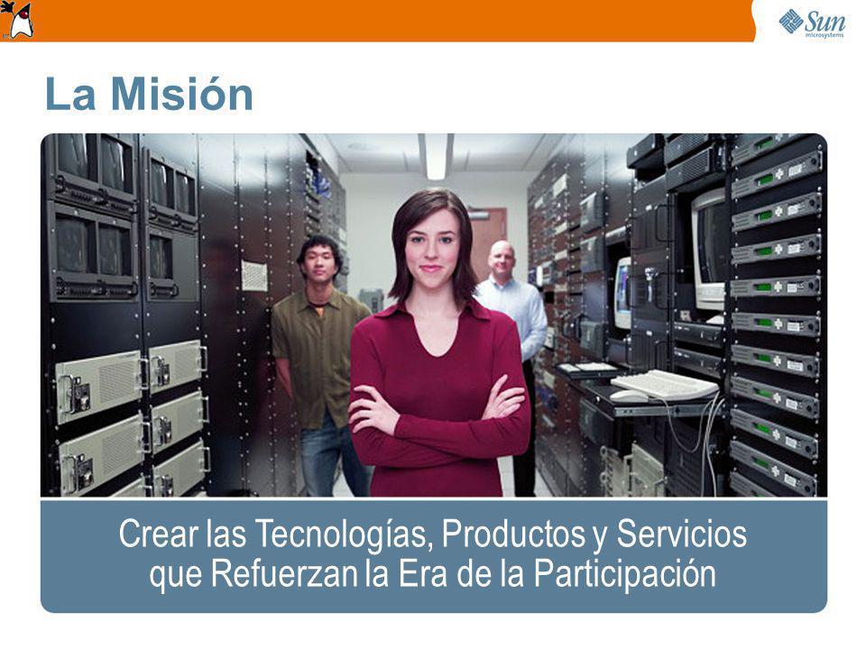 La Misión Crear las Tecnologías, Productos y Servicios que Refuerzan la Era de la Participación