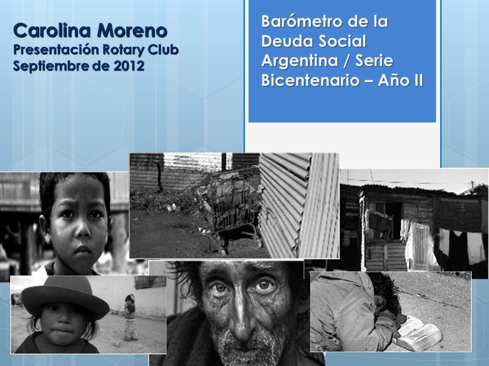Carolina Moreno Presentación Rotary Club Septiembre de 2012