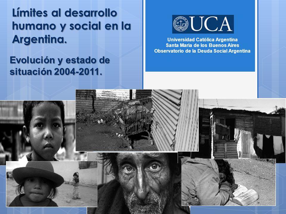 Límites al desarrollo humano y social en la Argentina.