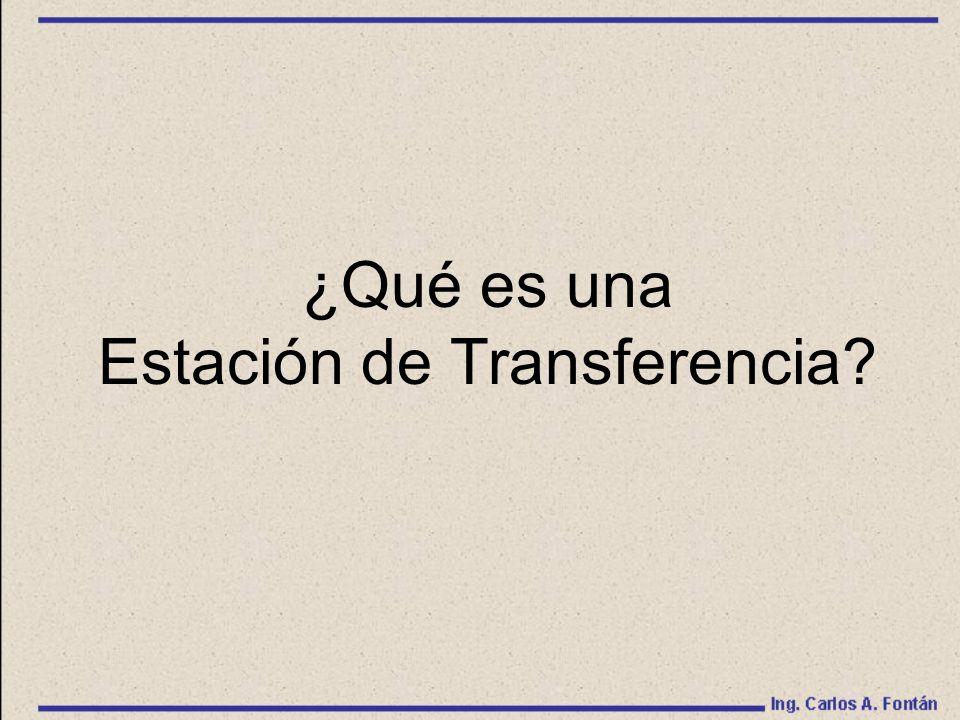 Estación de Transferencia