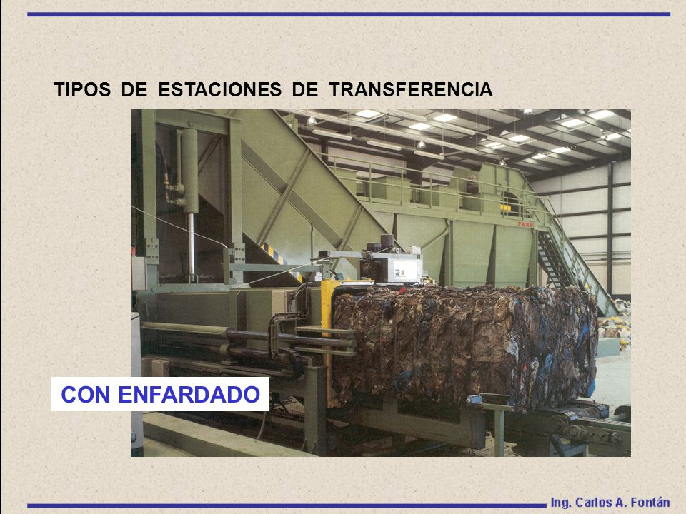 TIPOS DE ESTACIONES DE TRANSFERENCIA