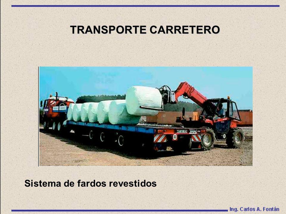 TRANSPORTE CARRETERO Sistema de fardos revestidos
