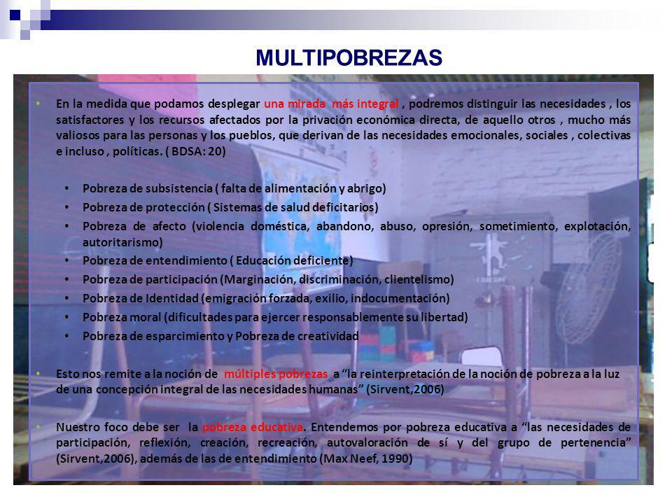 MULTIPOBREZAS