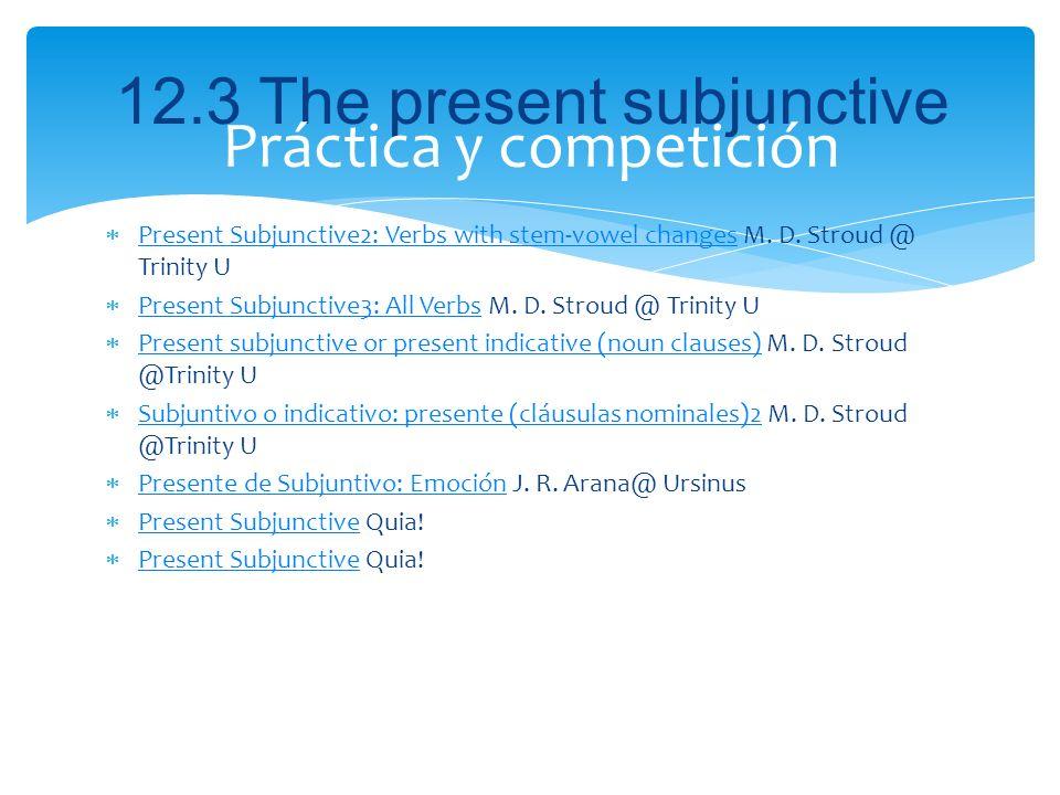 Práctica y competición