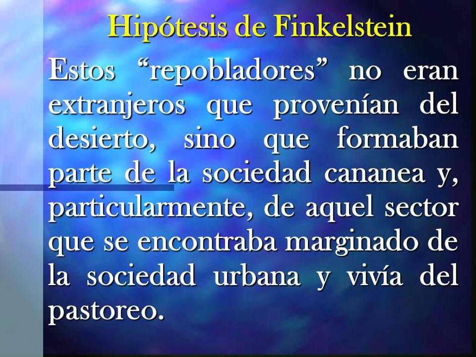 Hipótesis de Finkelstein