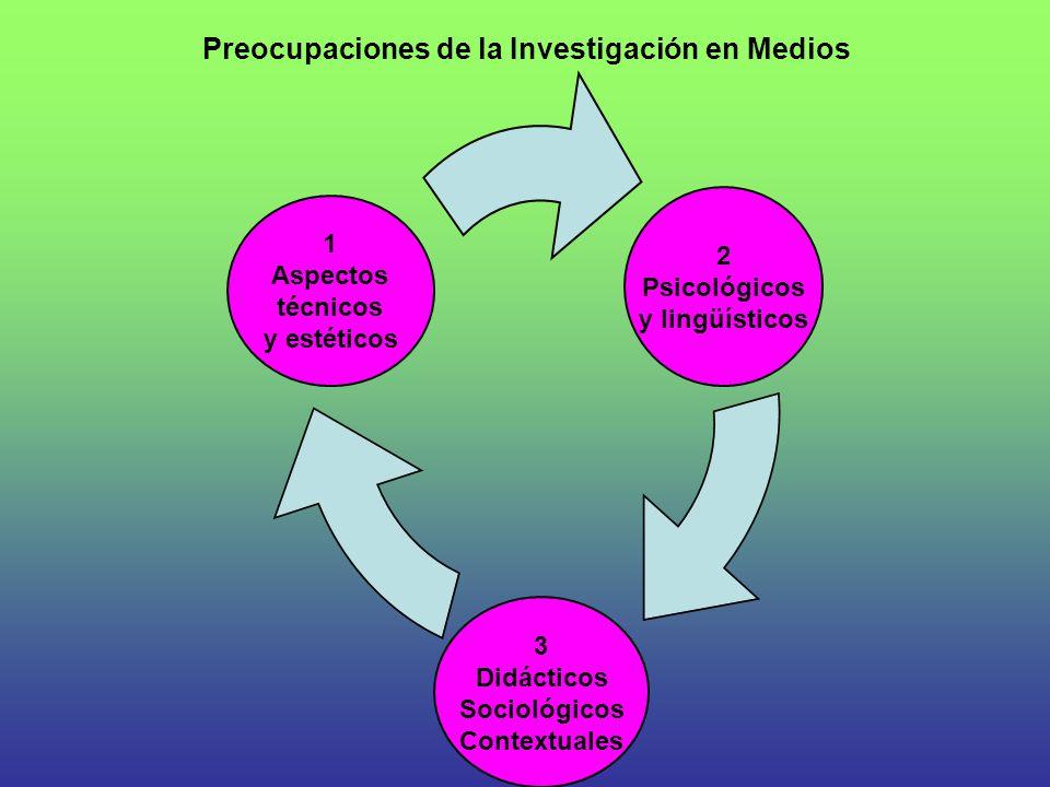 Preocupaciones de la Investigación en Medios