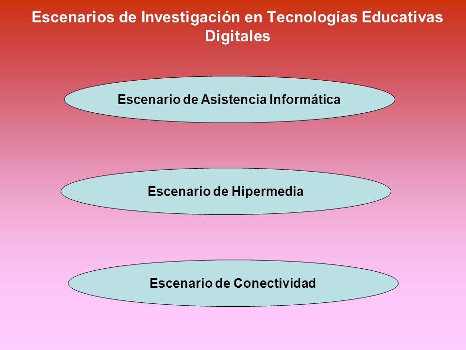 Escenarios de Investigación en Tecnologías Educativas Digitales