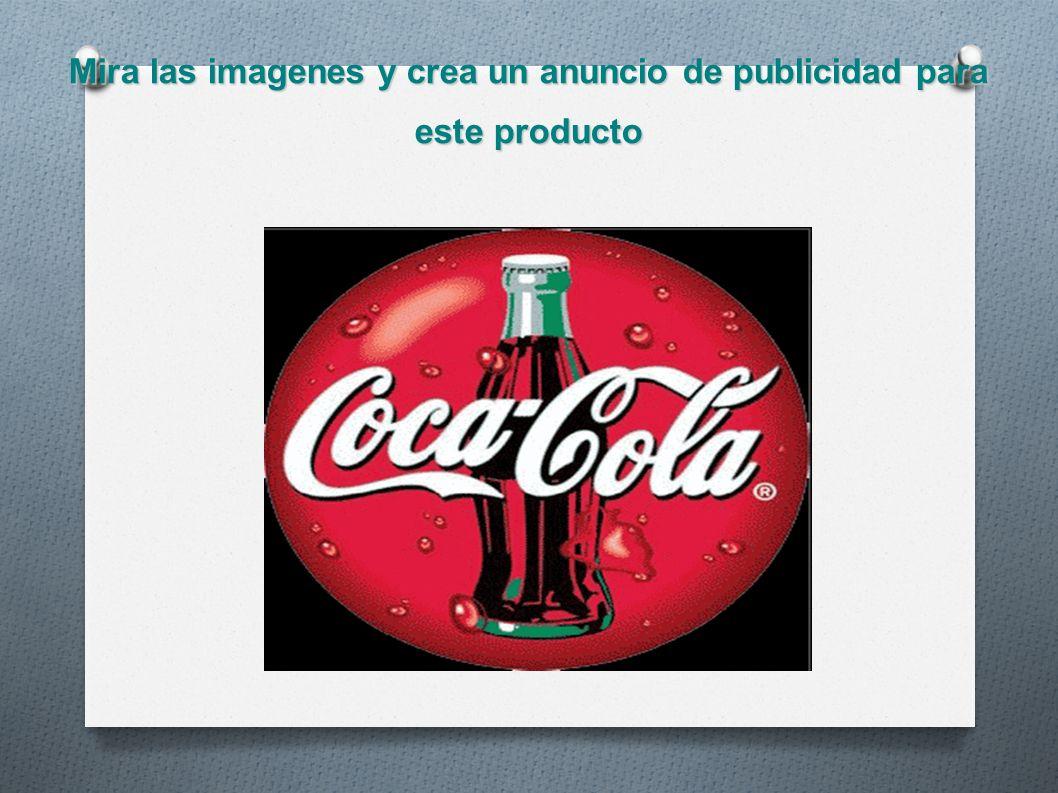 Mira las imagenes y crea un anuncio de publicidad para este producto