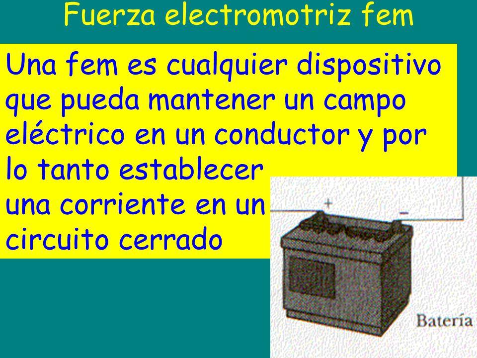 Fuerza electromotriz fem