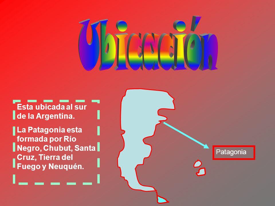 Ubicación Esta ubicada al sur de la Argentina.