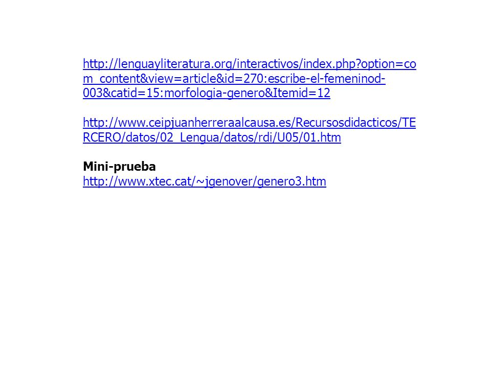 http://lenguayliteratura. org/interactivos/index. php
